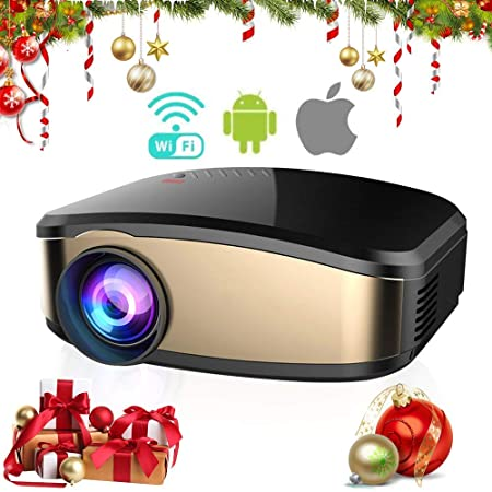 Ai LIFE Proyector inalámbrico de Video WiFi Full HD 1080p ...