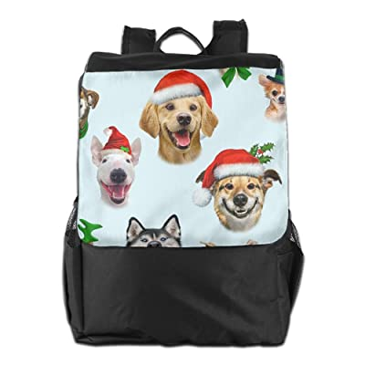 outlet Kind Of Dog Christmas Style Personalised Lightweight Travel Hiking Backpack Daypack Gift