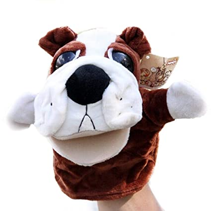 Kids Hand Puppet Cute Animals Puppet Doll Soft Breathable with Working  Mouth Hand Puppet