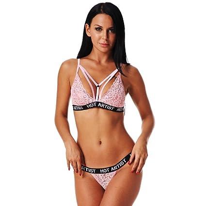 e7d7021eea Amazon.com  Women s Fashion Bandage Sports Bra
