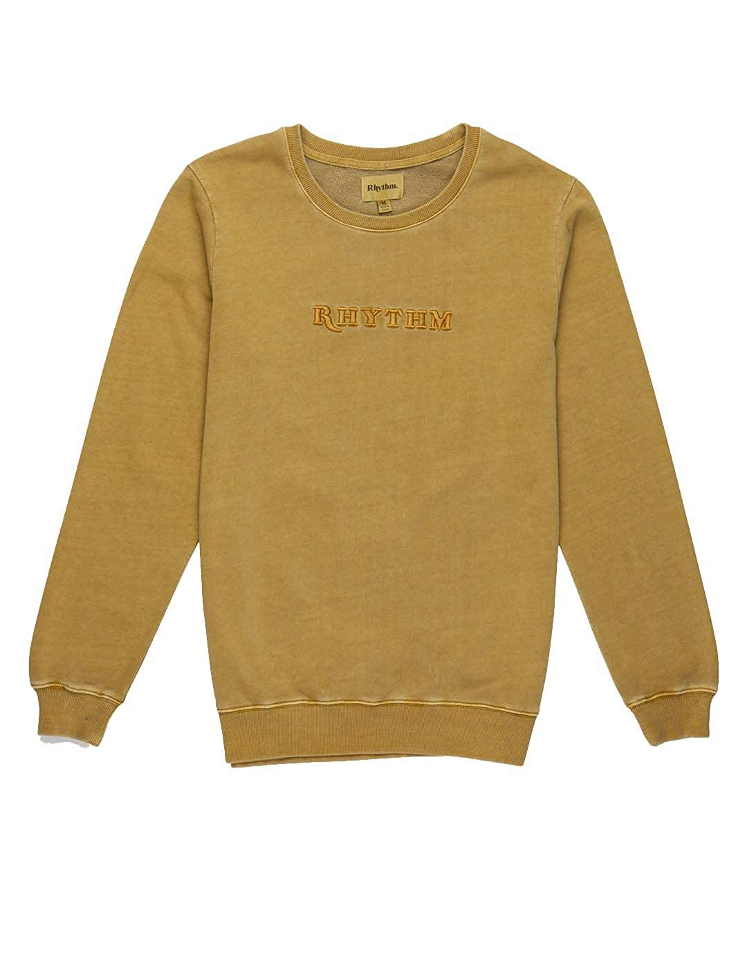 Sudadera RHYTHM Washed out Pullover Faded Seaweed: Amazon.es ...