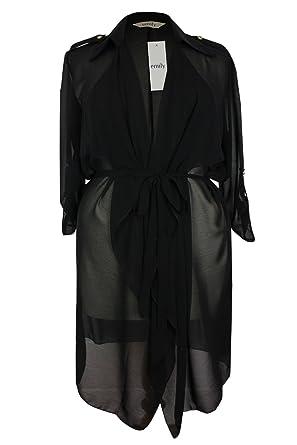 Black duster jacket uk