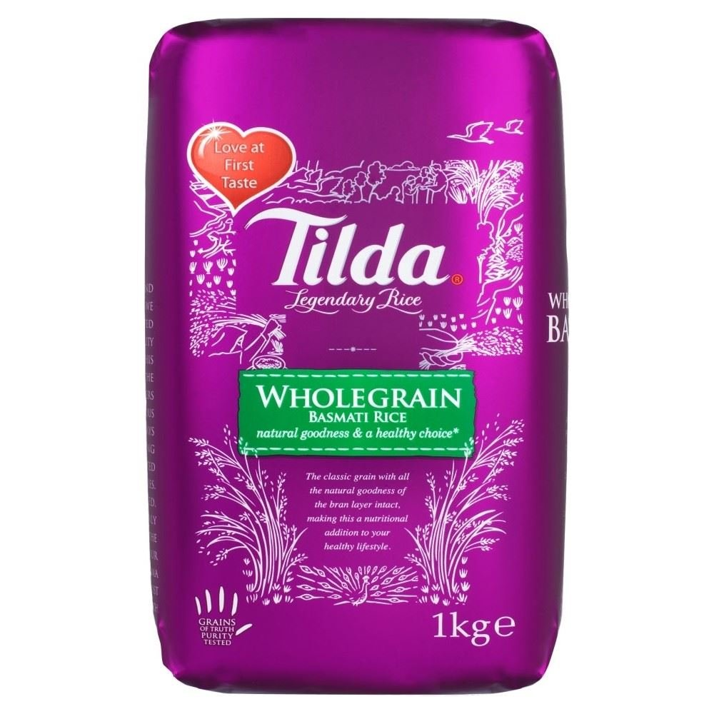 Tilda Wholegrain Basmati Rice (1Kg)