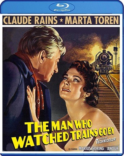 Blu-ray : The Man Who Watched Trains Go By (aka The Paris Express) (Subtitled)