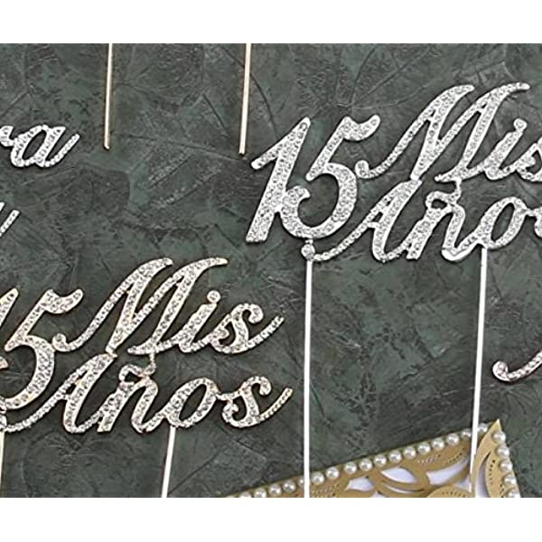 mis quince party decorations Quinceanera topper Personalized Mis Quinceanera Cake Topper teen birthday cake topper 15 Birthday Topper