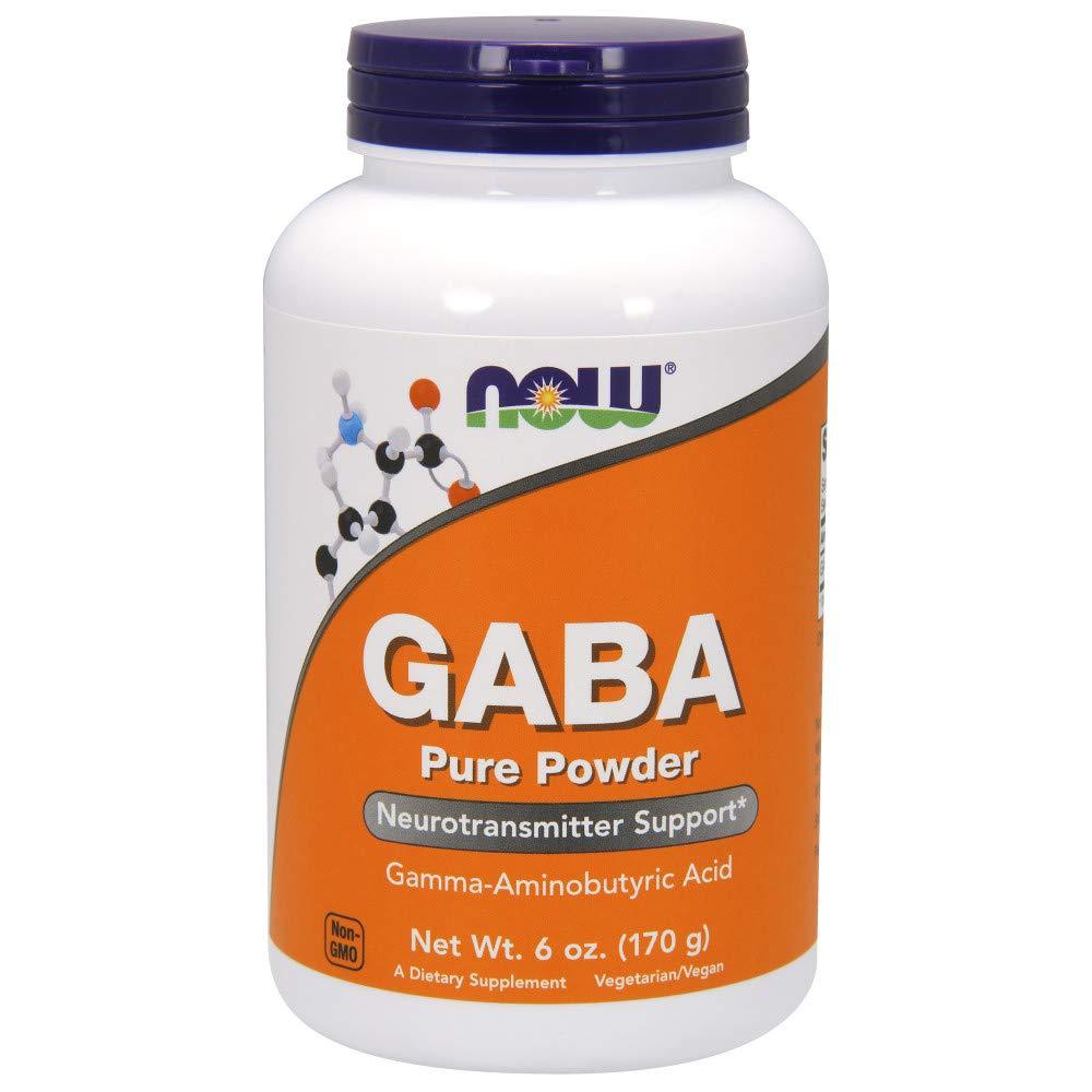 NOW GABA Powder, 6-Ounces