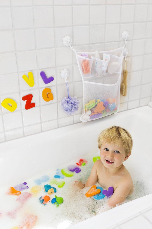 Babyworld organizador de juguete de ba o 2 fu envio - Juguetes de bano ...
