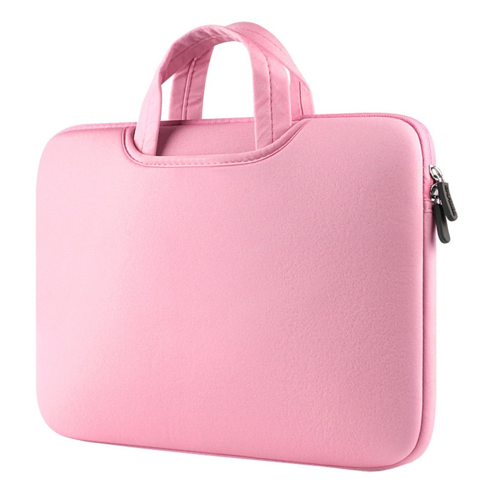 Ecokaki Women's Laptop Handbag Liner Package Computer Bag Laptop Sleeve Case Tablet Cover Bag Pink