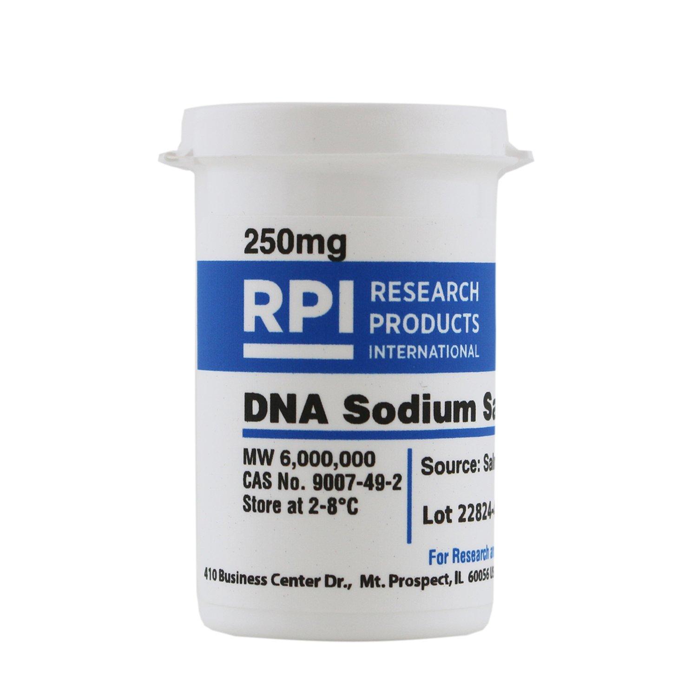 Deoxyribonucleic Acid Sodium Salt [DNA, Sodium Salt from Salmon Sperm], 250 Milligrams by RPI