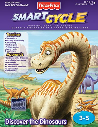 Fisher-Price Smart Cycle [Old Version] Dino Software Cartridge by Fisher-Price