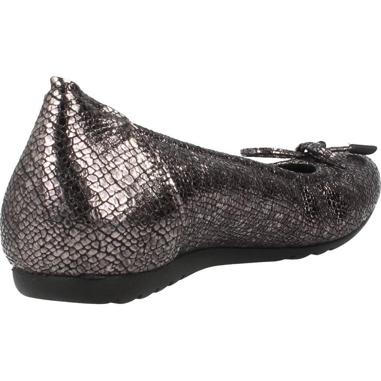 bbced79e586 Zapatos Bailarina para Mujer Color Plateado Marca SABRINAS Modelo ...