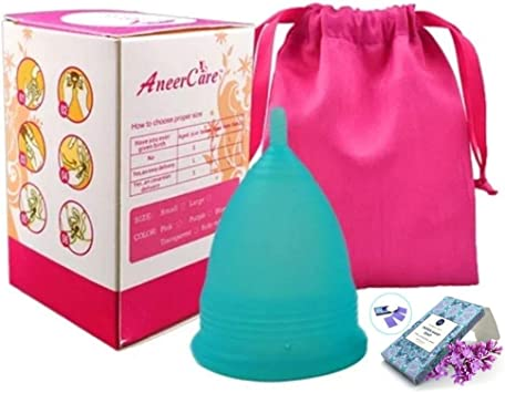 Copa Menstrual de Silicona Soft Grado Médico 100% Incluye ...