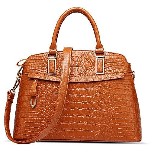 Aoligei Sac à main femme cuir sac à main shell sac des femmes A