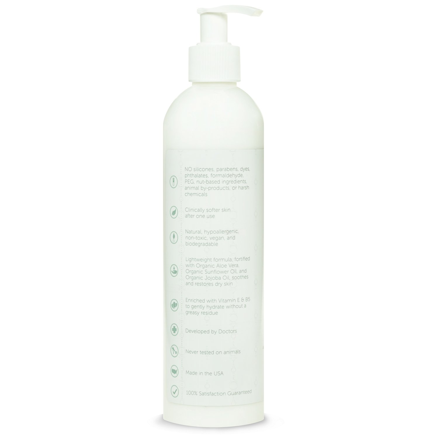 Puracy Organic Hand & Body Lotion, The BEST Natural Moisturizer, Unscented, All Skin Types, All Day Moisture, All Natural, 12 Ounce Bottle by Puracy (Image #5)