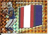 2016 Spectra Monumental Memorabilia Neon Orange #1 Cardale Jones MEM 3/3 Bills