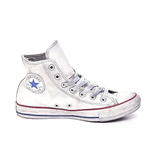 zapatillas piel converse mujer