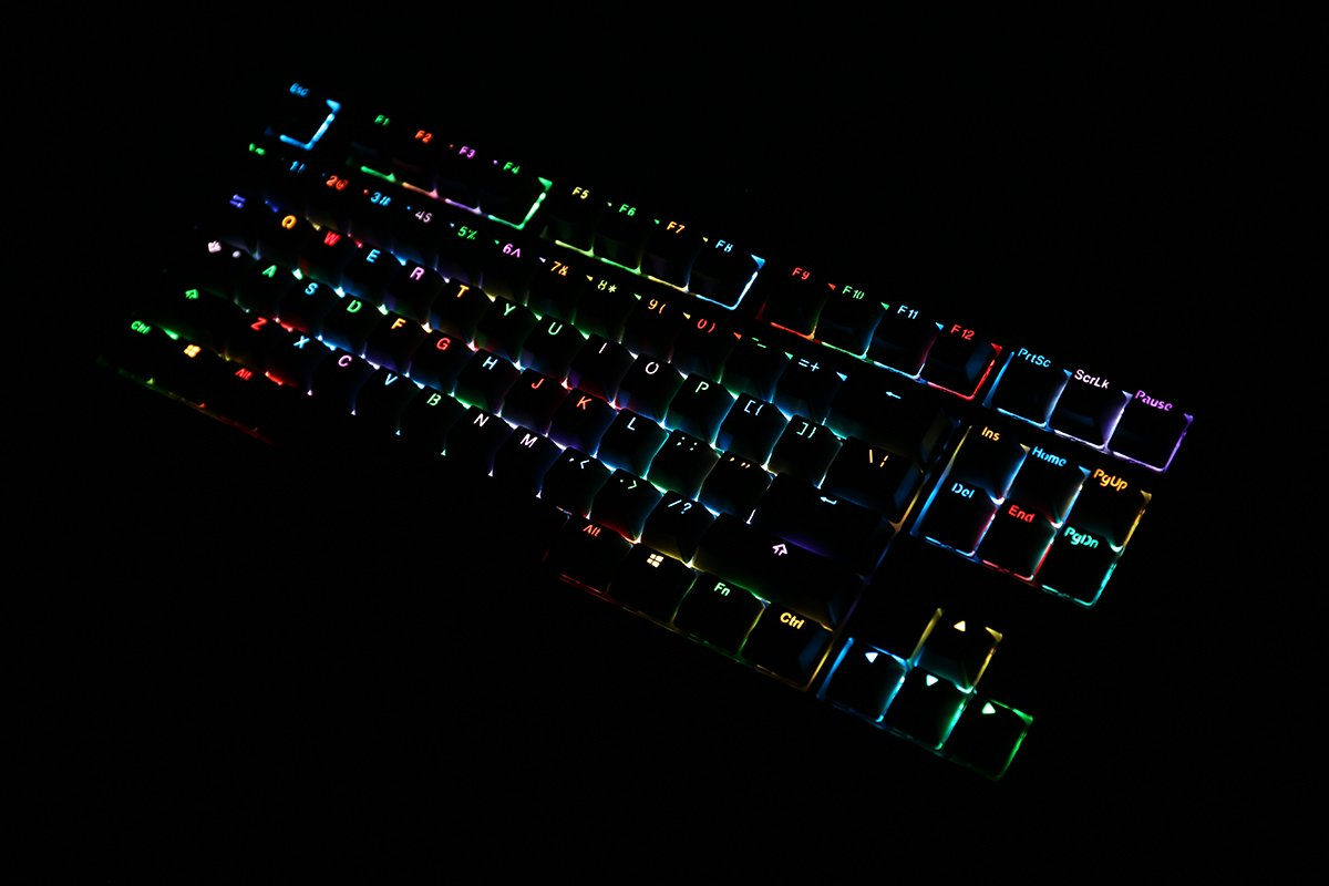 MK Disco Black PBT (KBT Blue) Keyboard