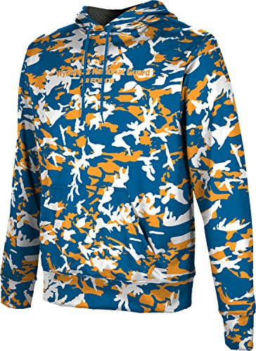 Men's Wyoming Air National Guard Military Camo Hoodie Sweatshirt (Apparel)