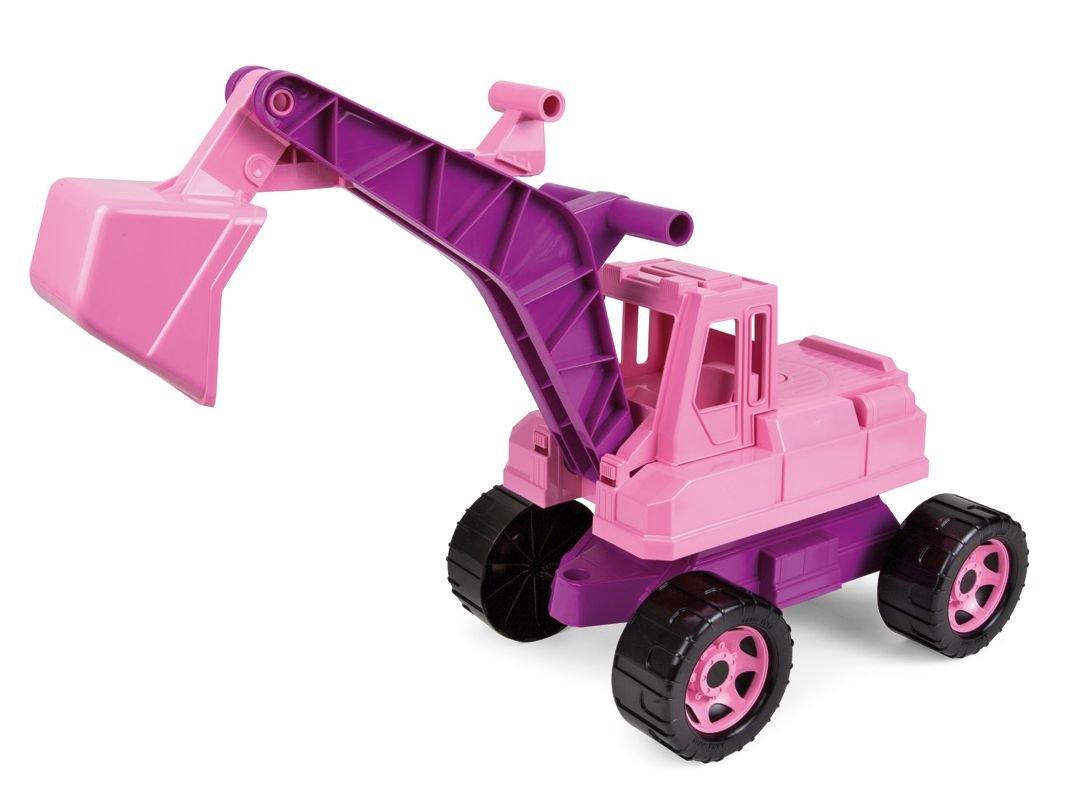 Kinderbagger - Sitzbagger Mädchen - Kinderbagger Rosa