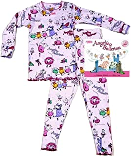 product image for Books to Bed Angelina Ballerina Long Sleeve/Pants Pajamas with Book