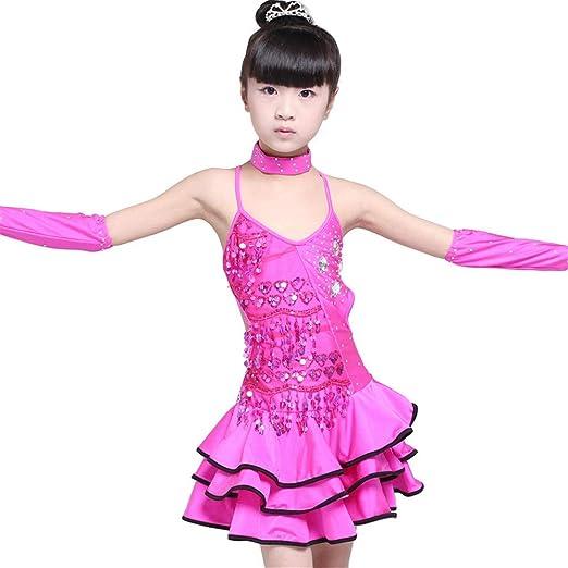 Niñas Gimnasia Leotardo danza falda Niños Niñas Vestido de ...