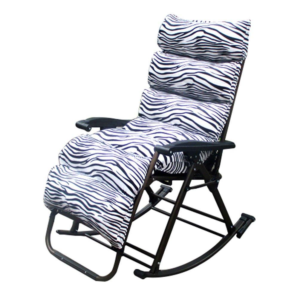 LLRDIAN Schaukelstuhl des Schaukelstuhls Erwachsener fauler Stuhl des Schwingkorbstuhls fauler Stuhl fauler Stuhl zufälliger Mittagspausestuhl