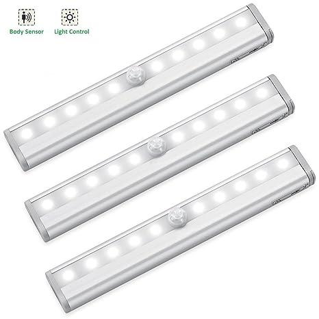 Enjoyable 10 Led Motion Sensor Closet Lighting Wireless Light Bar Cabinet Wiring Digital Resources Bemuashebarightsorg