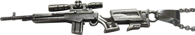 Kiola Designs Scope Rifle V1 Pendant Chain Necklace