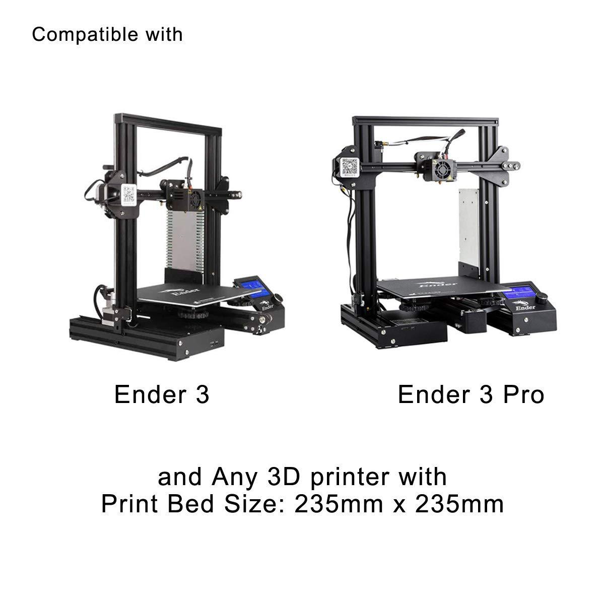 Creality Original - Placa de impresión para Impresora 3D Ender 3 ...