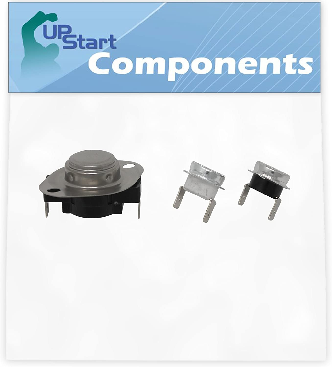 Replacement LA-1053 Thermostat Kit for Admiral LNC8766A71 Dryer