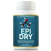 Nuderm Epi Dry HYPERHIDROSIS Treatment Pills Stop Sweating, Sweaty Hands Sweaty...