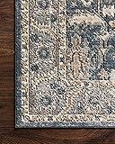 "Loloi II Teagan Area Rug, 5'-3"" x 7'-6"", Denim/Pebble"