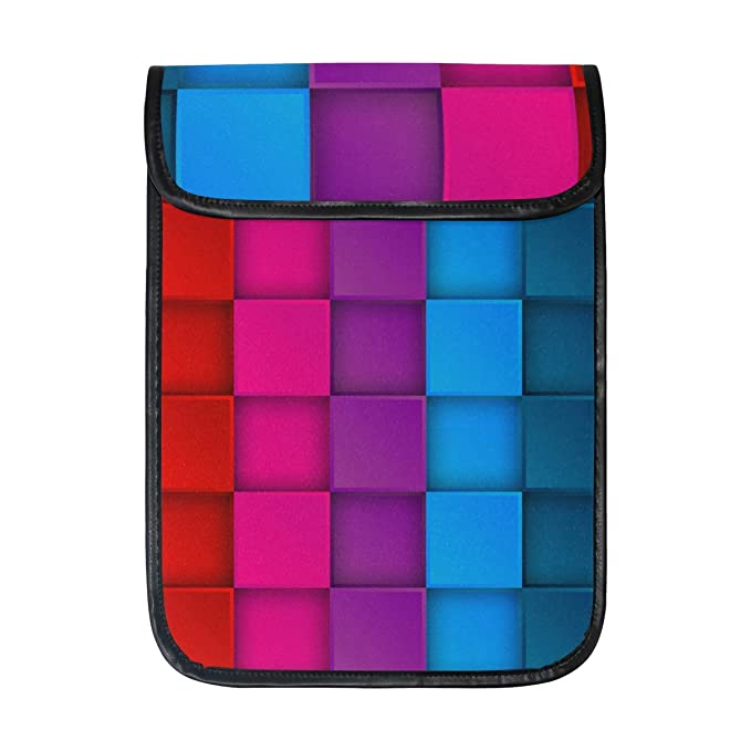 5e86453dcced Amazon.com: imobaby Colorful Neon Contrast Rainbow iPad Protective ...