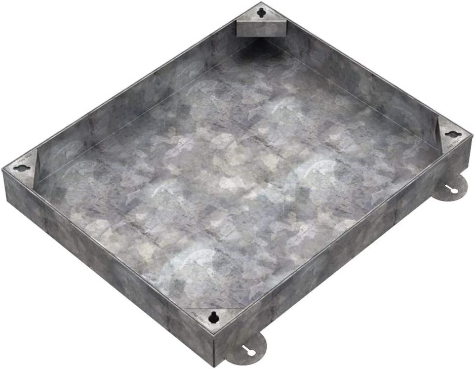EcoGrid 600 X 450 X 100mm GrassTop Recessed Manhole Cover EG6045//100-GT