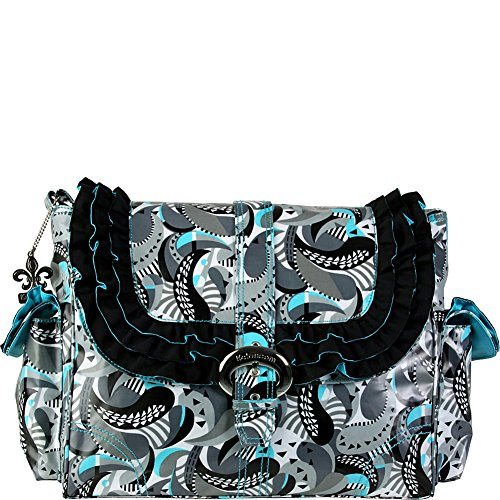 Kalencom Miss Prissy Buckle Bag, Mardi Gras (Kalencom Coated Double Buckle Bag)