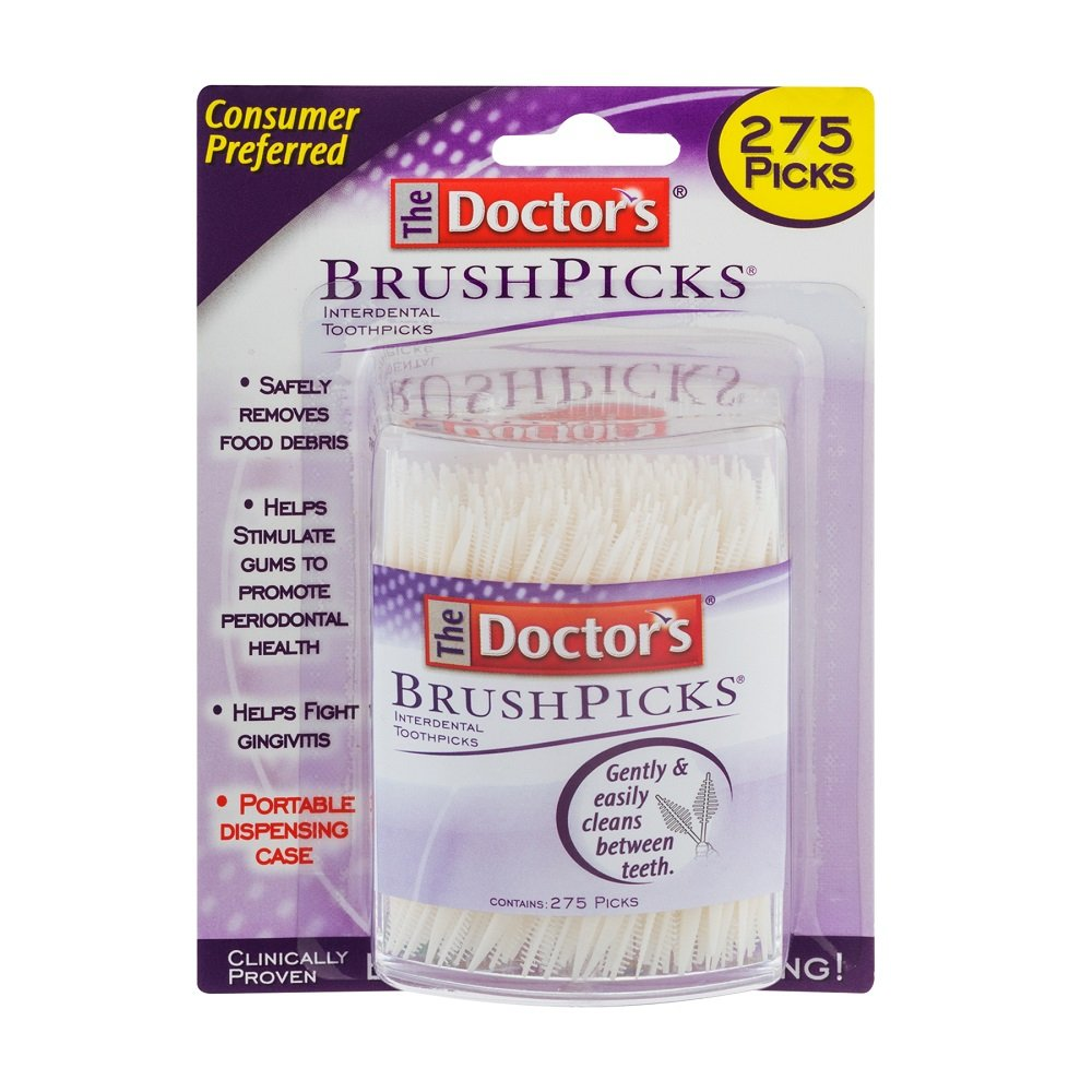 Doctor's Brushpicks, 275 Count Doctor' s Brushpicks Medtech Product Inc. 042037101442