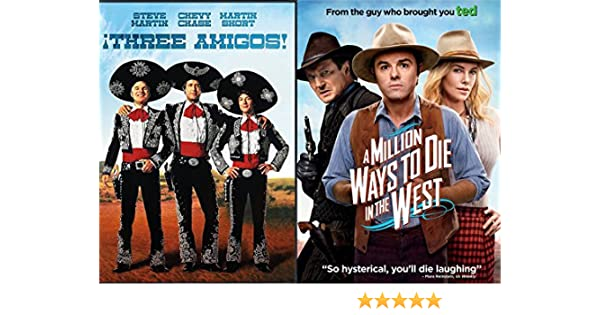 The Western Comedy 2-Funny Pack - A Million Ways to Die in the ...