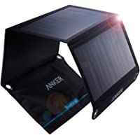 Anker PowerPort Solar (21W 2ポート USB ソーラーチャージャー)【PowerIQ搭載】 iPhone 11 / 11 Pro / 11 Pro Max / XR / 8 / iPad Air 2 / mini 3 / Xperia / Galaxy S10 / S10+、その他Android各種他対応