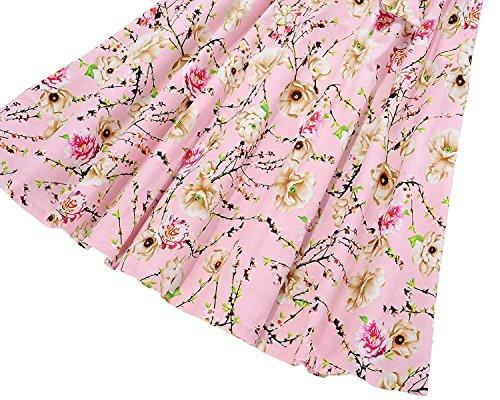 Design Dress A Style Hepburn Color17 Line Party 1950s Floral Women's Audrey Vintage Fit Dresses dqF61dwy