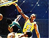 Wilt Chamberlain Autographed Signed Los Angeles Lakers 8 x 10 Photo - COA - Near Mint/Mint Condition
