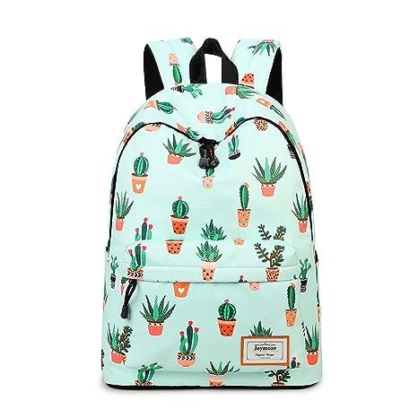 ZHANGQIAN Backpackleisure para Niñas Adolescentes Escuela ...