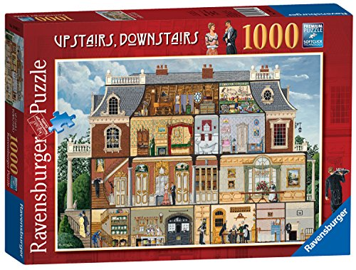 Ravensburger Upstairs, Downstairs, 1000pc Jigsaw Puzzle