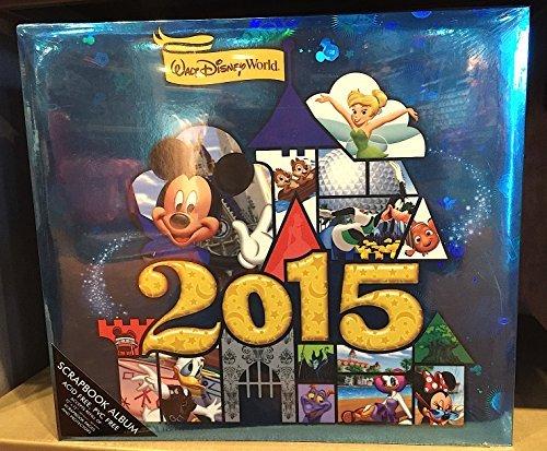 Walt Disney World 2015 12 x 12 inch Scrapbook Album NEW