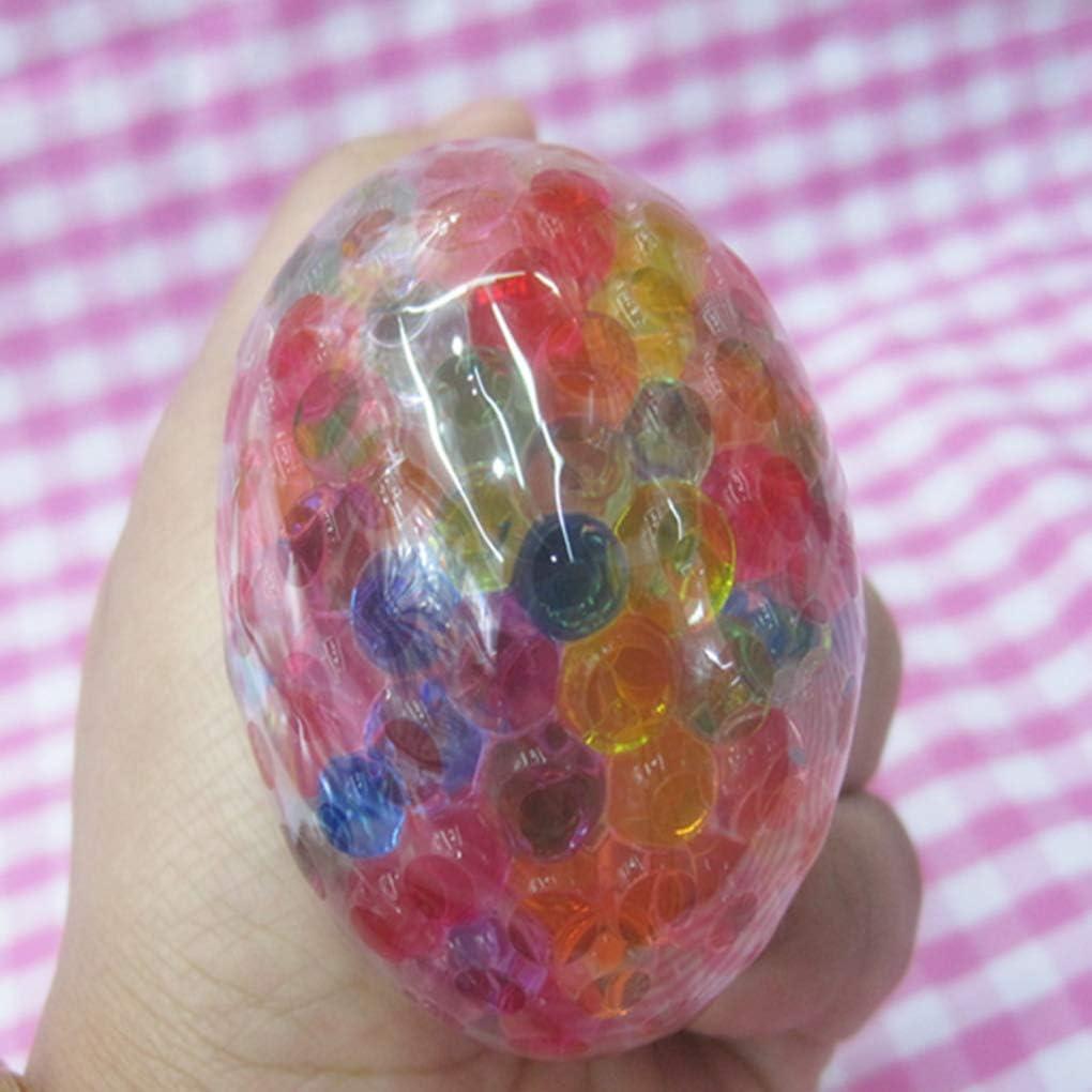 Fornateu Raisins de Sol Cristal Environnement Stress Serrant Stress Jouet serrant la Balle /à Billes Vent Pression Sortie Main sensorielle Jouet
