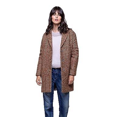 440b953d139d Trench and Coat Manteau en Lainage Chevrons  Amazon.fr  Vêtements et ...