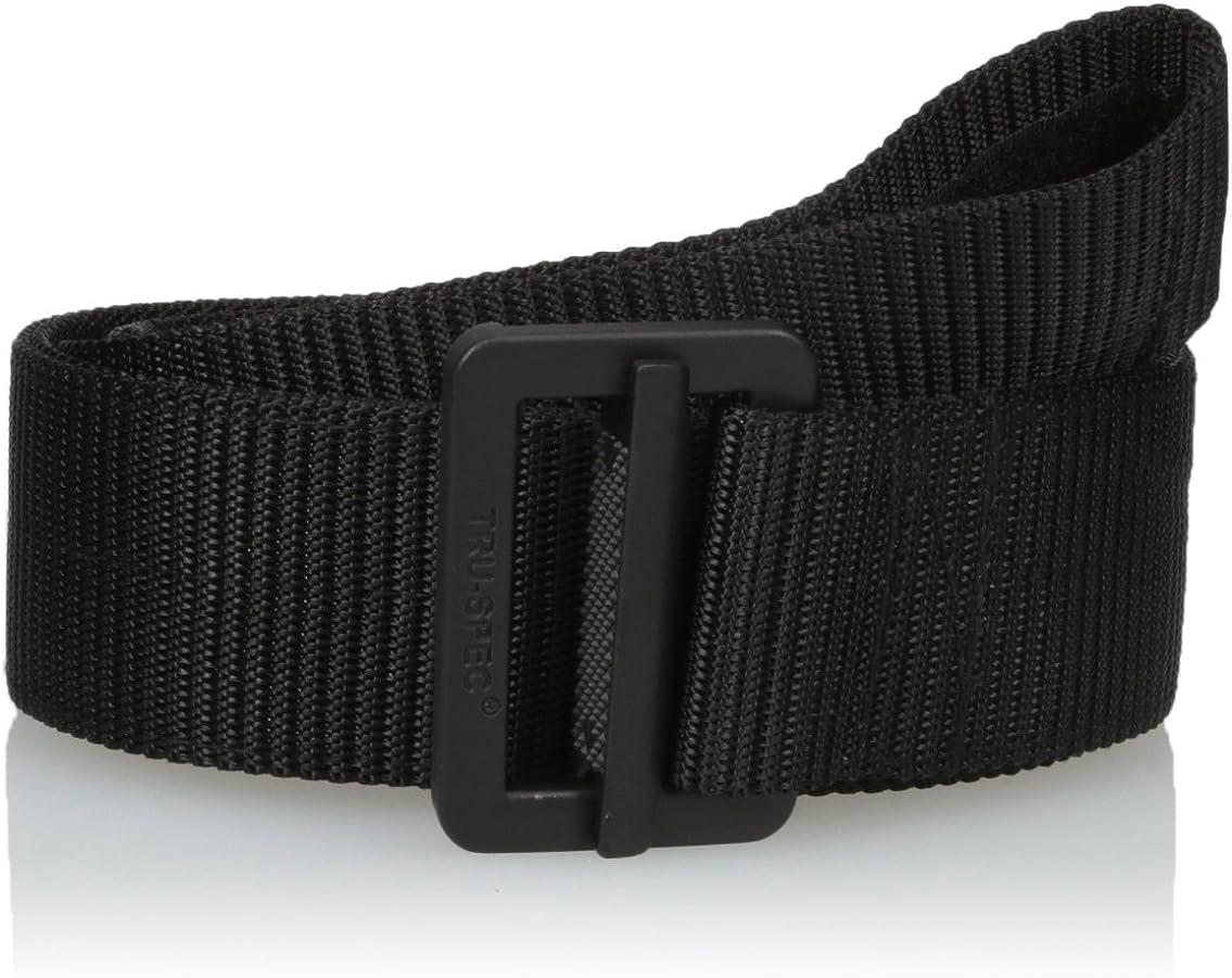 Tru-Spec Pro Series TRU Belt 100/% Nylon Webbing W// Black Buckle