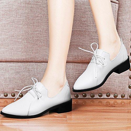 Chaussures white Femmes Coréennes Les Femmes Étudiants Chaussures De Au Printemps Chaussures Printemps Tous Les KHSKX Documentaires Correspondent Britanniques Chaussures Printemps Petites qwRZcxT