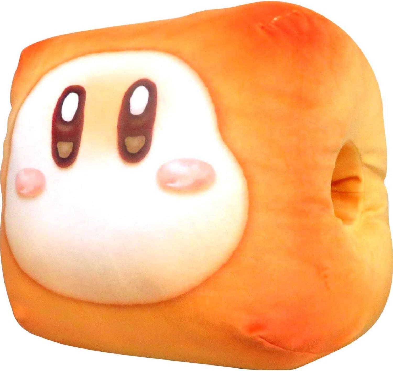 B Waddle DEE Kirbys Dream Land PUPUPU BAKERYS Oyasumi Bread Cushion
