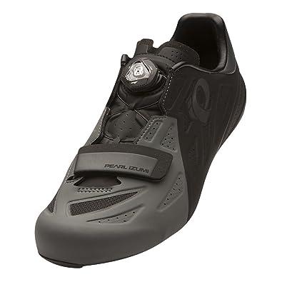 Pearl Izumi Men's Elite Road v5 Cycling Footwear, BlackShadow Grey, 46.5
