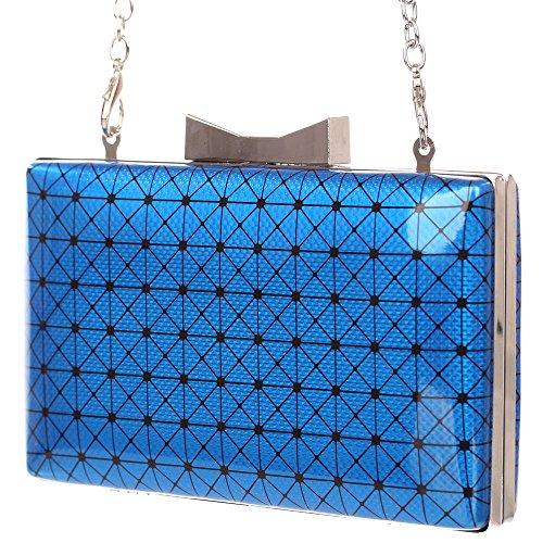 Ital-DesignClutch-tasche Bei Ital-design - Bolso de botón Mujer azul